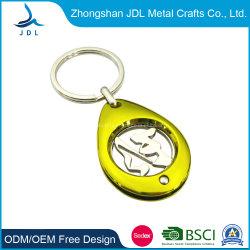 Рекламные оптовые дешевые Custom металлические монеты евро маркер супермаркет Корзина маркер тележка для мелких предметов цепочки ключей (43)