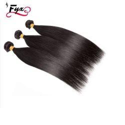 8-30дюймов малайзийской прямые волосы связки 100% волос человека отклоняется от