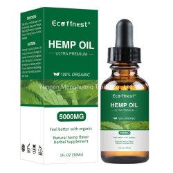 Personalizzare l'olio essenziale puro della canapa del contrassegno privato 100% di Cbd dell'olio di dolore di rilievo di guida dell'estratto di erbe organico naturale di sonno
