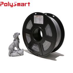 1,75mm 2,85mm la tenacidad de fuerte Color personalizado de alta calidad PLA/ABS/PCL/PETG/TPU filamento