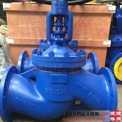 DIN&fr&GO&GOST PN40 PN16 F4 F5 ou en acier moulé, type à embase en acier inoxydable bille de vérification de la porte papillon RF Soufflet Joint vanne Globe