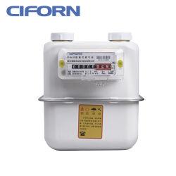 Boîtier en acier de compteurs de gaz à membrane de ménage G1.6-G4