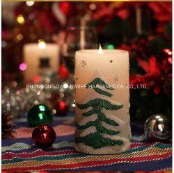 Питание от аккумулятора Рождество светодиодная свеча, Фестиваль светодиодная свеча