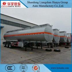 40m3/45CBM/40000L utilisé/Second Hand/utilisé pour l'essence de remorque-citerne/kérosène/kérosène