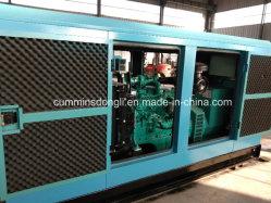 100KW/125kVA en silencio Generador Diesel con motor Cummins