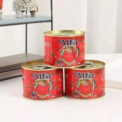 Tomatenkonzentrat, Tomatensauce, eingemachtes Tomatenkonzentrat in der Ägypten-frischen Tomate