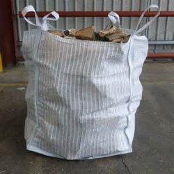 Egpのポリプロピレンの網通気性の換気された空気によって出されるジャンボ袋FIBC大きい袋のパッキングまきのログの材木木1000kg