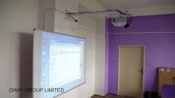 Elektrische bewegliche Minihauptversammlungs-Infrarotausbildungs-interaktive weiße Vorstände