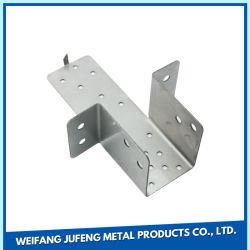 Kundenspezifische Qualitäts-Stahlblech-Metallherstellung gestempelt, Teil stempelnd