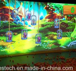 Juego Interactivo Gooest Crazy Magic Ball juegos de proyector de pared de diversiones para niños