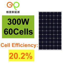 熱い販売の太陽電池パネルによってモノラル結晶300Wは太陽系が家へ帰る