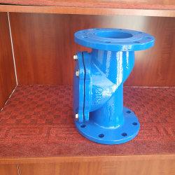 Usine de fonte ductile d'alimentation de disque en caoutchouc du clapet antiretour