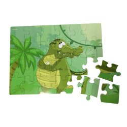 لغز الديناصورات لعبة لغز خشبية