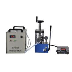 معمل تحميض صغير 300C لوح واحد تسخين كهربائي تلقائي اضغط على الساخن للخشب الرقائقي