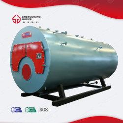 Aquecedor de Água a Gás Natural horizontal caldeira para a fábrica de leite