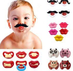 Neue Feld-lustiger Schnurrbart-Friedensstifter für stillendes Baby als Spielzeug