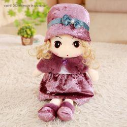 Bambole di panno farcite insieme americano della bambola della ragazza della peluche di modo