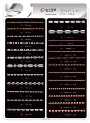 Chaîne en acier inoxydable/laiton chaîne Chaîne à billes de bijoux de la chaîne de fer de chaîne de clé de la chaîne chaîne en or de la chaîne de chien Collier Chaîne en acier inoxydable de la chaîne chaîne en laiton