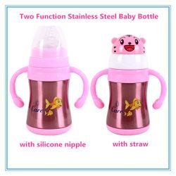 Bottiglia per il latte dell'acciaio inossidabile della boccetta di vuoto per il bambino/capretti d'alimentazione