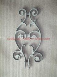 Flor de fundición de aluminio para muro, Jardín, Barandilla