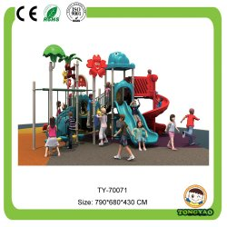 أفضل سعر لمعدات ملعب للأطفال في الهواء الطلق (Ty-70071)