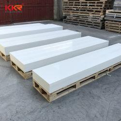 Glacier White 12mm Hi-Macs Hanex Corian Artefakte Steinplatten strukturiert Marmor solide Oberfläche für Arbeitsplatten Küche Eitelkeit