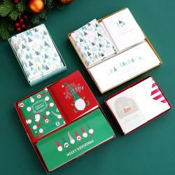 Novo Produto Feliz Natal cartões de saudação de bênção Envelopes Cartões de agradecimento