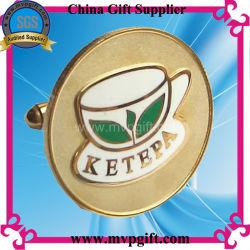 Металлические Gold в подарок для продвижения Cufflink (m-CK04)
