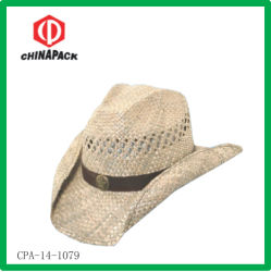 Estilo Cowboy Promoção Chapéu de Palha (CPA-14-1079)