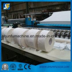 Jumbo Papier en rouleau trancheuse rembobineur, trancheuse Prix de la machine, de refendage automatique des machines