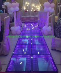 Indicatore luminoso senza fili del DJ RGB LED Dance Floor per il banchetto, eventi