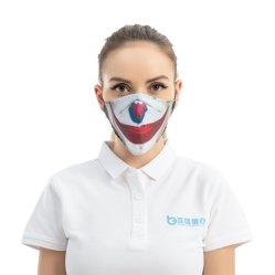 洗浄可能なリユーザブルクロスファブリック(成人用)による顔保護