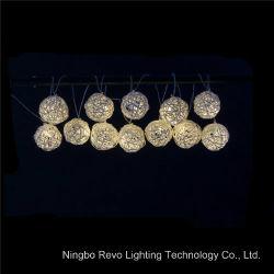 Solar Rattan Ball Fairy Lights For Christmas Outdoor (Rs1013)