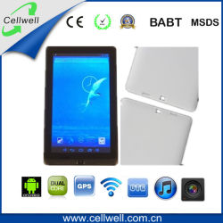 ROM 8g Dual Core 1.2GHz Android 4.1 Dual Camera (M709) del PC di 7inch Rk3066 GPS Tablet
