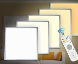 Regulable personalizada CCT 3000K-6000K de la luz de panel LED 40W