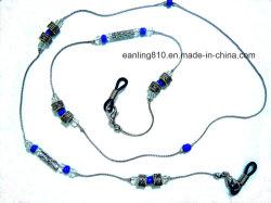 Cordão artesanais Óculos Colar de correntes de joalharia
