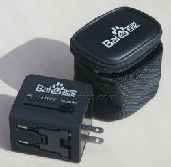 Di stampa adattatore di spina universale su ordinazione di corsa universalmente con il caricatore Sp118 del USB