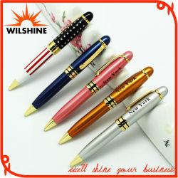 Высокое качество пользовательских рекламных короткое замыкание металлические ручки для подарка (BP0070)