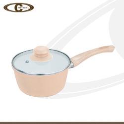 Popular Prato de leite cremoso com tampa de vidro