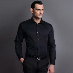قميص رجال الموضة بأكمام طويلة