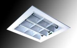 作り付けの広端の省エネの格子ランプのパネルシリーズ(HML-0317)