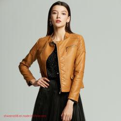 Venda por grosso casaco de inverno mulheres Casaco de couro Canadá EUA casacos de Inverno cubra o desgaste externo Faux Fur Casaco de couro jaqueta de tácticas