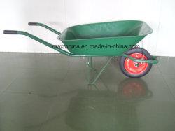 С другой стороны Maxtop передвижной стороны погрузчика Wheelbarrow колеса Барроув Нигерии и Бразилии на рынке (WB6500)