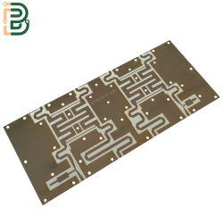 Ouro de imersão Rogers 4350 Alta freqüência da placa PCB usados para sinal de impressão do modelo da placa de circuito