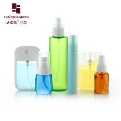 Ecológico de plástico de PCR Embalagem cosméticos hidratantes Higienizadores lado vazio/Spray/conta-gotas/pulverizador/Perfume/loção/Alumium Bambu Bomba dispensadora de garrafa pet