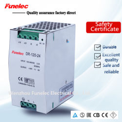 Rail DIN 120W Transformateur AC 12V DC Alimentation de Puissance de commutation