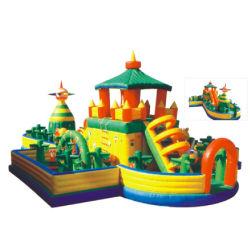 Almofada insuflável de barco eléctrico Bouncer encantador castelo insuflável para crianças com brinquedos infláveis