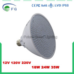 Lampe E27 de syndicat de prix ferme de la lumière 12V/120V/220V DEL de piscine de DEL PAR56