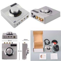 USB 192 Кгц 24bit аудио усилитель наушников ЦАП с разъемами RCA и Toslink S/PDIF цифровой выход