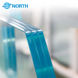 Lamelliertes Glas-Blatt-Nordglaspanel